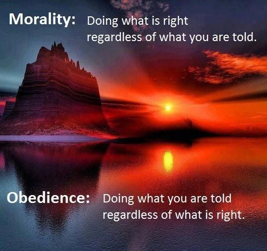 MoralityObedience