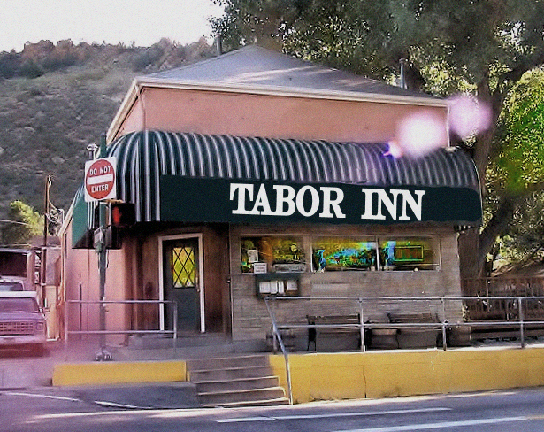 John & Mary Marlin's Tabor inn Current site of Tony Rigatoni's Pasta & Pizza