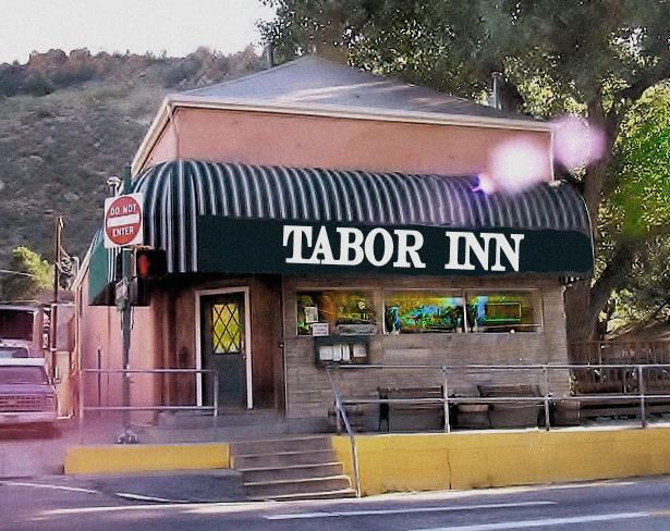 John & Mary Marlin's Tabor inn Current site of Tony Rigatoni's Pasta & Pizza