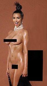 Kim Kardashian giver blowjob